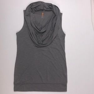 Lucy Activewear Medium Cowl Neck Tunic Top